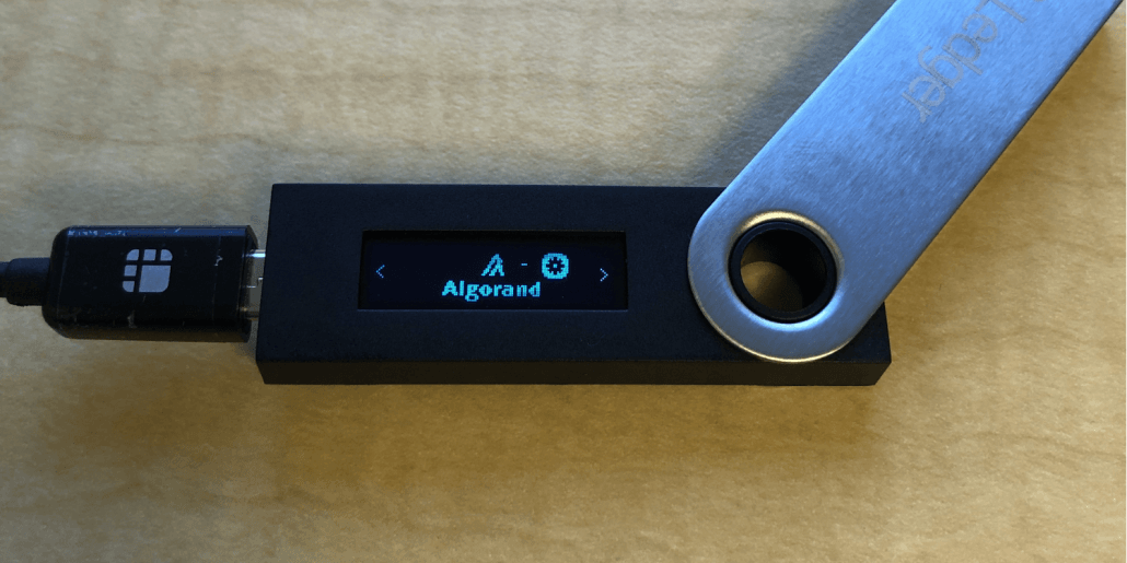Install Algorand on Ledger Live to Use with Your Ledger Nano S