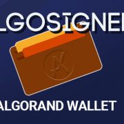 AlgoSigner Algorand Wallet Announcement